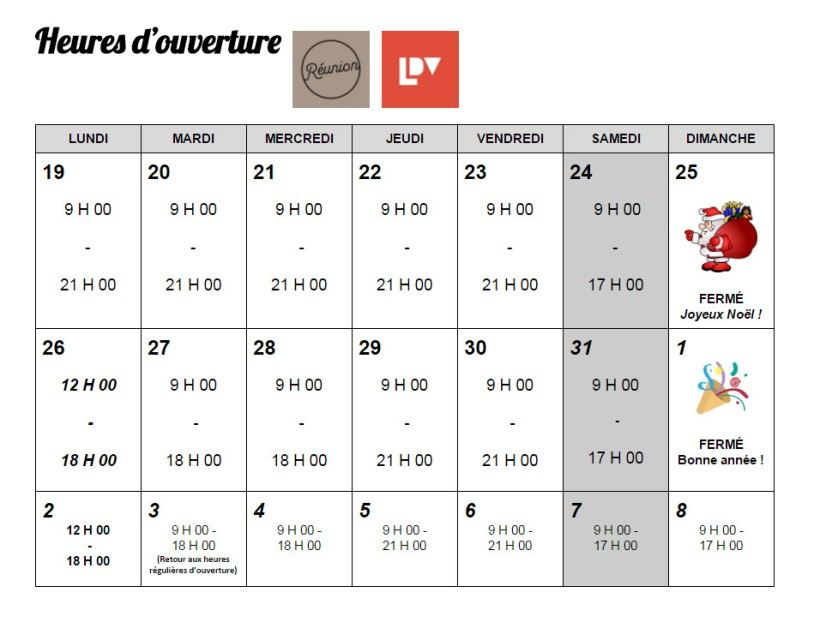 horaire2016